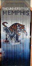 NIB Memphis Tigers Bamboo Beaded Room Divider/Curtain 3X6 ft Man Cave Art