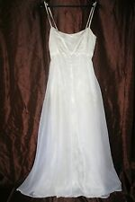 r- WEDDING BRIDESMAID GOWN SZ 10 GORGEOUS FORMAL WEAR PROM PAGEANT GENTLY USED