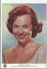 cartolina originale attrice 20 century  fox charlotte austin papa' gambalunga