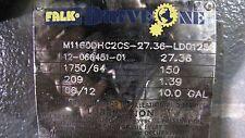 FALK M1160DHC2CS-27.36-LD1256 RATIO 27.36 GEAR REDUCER