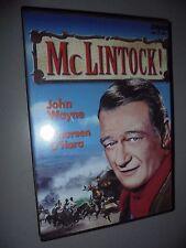 DVD McLINTOCK! JOHN WAYNE MAUREEN O'HARA