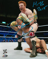 WWE SHEAMUS HAND SIGNED AUTOGRAPHED 8X10 PHOTOFILE PHOTO WITH PROOF AND COA 17