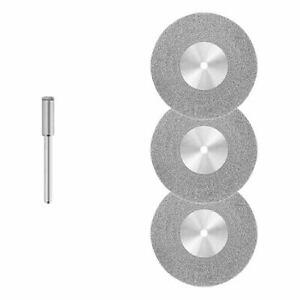 3x Diamant - Trennscheibe [Ø 45 x 0,6 mm] Fliesen – Glas / für Dremel, Proxxon …
