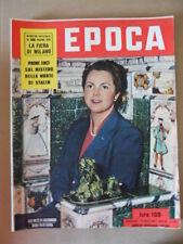 EPOCA 132 1953 Speciale la Fiera di Milano Mistero sulla morte di Stalin  [G771]