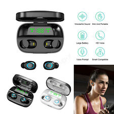 Mini Bluetooth 5.0 Earbuds Stereo Sound Wireless Headphones For iPhone Samsung
