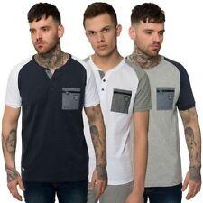 Raglan Kurzarm Herren-T-Shirts mit Rundhals-Ausschnitt