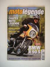 MOTO LEGENDE 159 BMW R 90 S-KAWA Z 1000-MOTOBECANE D 55 TT-HRD 500 COMET série A