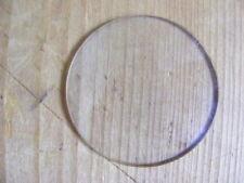 Verre bombé de montre à gousset, légèrement bombé diamètre 4,23 cm