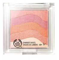 The Body Shop Honey Bronze Shimmer Waves Powder #04 Coral NEW