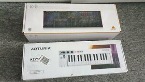 Behringer K2 Synthesizer und ARTURIA Keystep