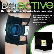 Be Active Brace Point Pad Leg for Back Pain Relief Acupressure Sciatic Nerve y