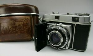 1950s Kodak Retina IIc Type 020 Retina Xenon F2/50mm Lens w/ Original Case