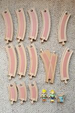 Brio Bob the Builder Wooden Train Track Lot Wendy Pilchard Cat Cards Thomas comp
