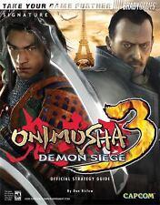Onimusha(tm) 3: Demon Siege Official Strategy Guide (Official Strategy Guides (