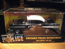 ERTL - AMERICAN MUSCLE POLICE - 1957 CHEVY CHICAGO POLICE DEPARTMENT
