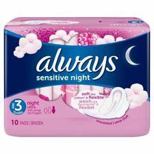 Always Sensitive 3 Size Night 10 New