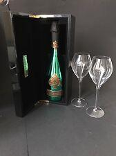 Armand De Brignac Brut Green Champagner Flasche 0,75l 12,5%Vol + 2 Gläser + Etui