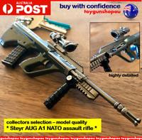 AUG A1 Keyring PUBG AUG A1 Model NATO Assault Rifle Gun Keychain AUG gun keyring