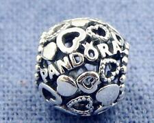 PANDORA Charm CUORI  Argento Bead S925 ALE #796461