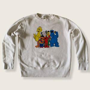 Uniqlo Kaws x Sesame Street Kids Pullover Sweatshirt Size 11-12 VGC
