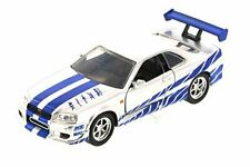JADA 97184 - 1/32 2002 NISSAN SKYLINE GTR R34 FAST AND FURIOUS SILVER