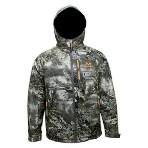 Men's Realtree Max-1 XT Waterproof Insulated Parka Jacket, M, L, XL,  2XL or 3XL