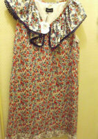 KOOKAI  robe femme fleurs flowers dress  (T.42) UK 16 / new