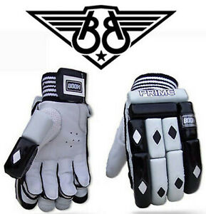 BOOM Prime Mens Cricket Batting Gloves RH Right Handed Wicket Keeping Leather
