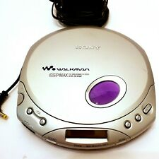 Sony D-E351 ESP MAX Discman CD walkman Compact Portable Disc Player Tested Works
