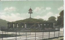 Postcard - Aviary & Dovecote Battersea Park London posted 1906