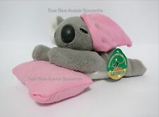 1x Australia Souvenir Koala Soft Toy Sleeping - Very Cute - Free Shipping