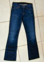 CITIZENS OF HUMANITY Blue Kelly#001 Stretch Low Waist Boot Cut Jeans Size 27