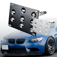 Front Bumper Tow Hook License Plate Mount Bracket Holder For BMW 1