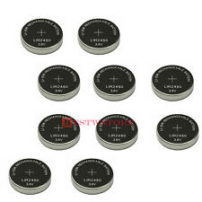 10 X NEW LIR2450 CR2450 2450 Rechargeable Li-ion 3.6V Battery Button/Coin