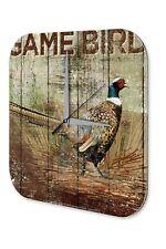 Wall Clock Bird Species  pheasant Printed Acryl Acrylglass
