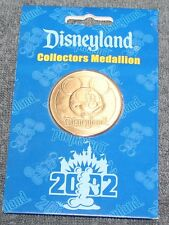NICE VINTAGE DISNEYLAND COLLECTORS MEDALLION COIN 2002