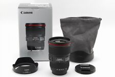 [ MINT ]  CANON ZOOM LENS  EF  F/4 L 16-35mm IS USM W/Box F/S  from Japan  #7117