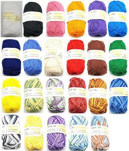 Schulgarn / Topflappengarn 50 g Cotton Quick - Print / 100 % Baumwolle