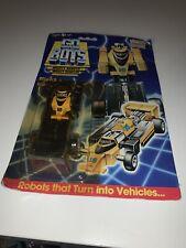 Tonka Gobots Slicks Enemy Robot Race Car 16 Sealed New 1980's Rare