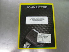 JOHN DEERE 458 ROUND BALER OPERATORS MANUAL (SPANISH) (OMFH309530)