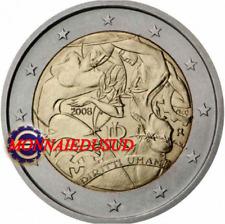 2 Euro Commémorative Italie 2008 - Droits de l'Homme