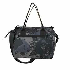 Large Insulated Camo Print Lunch Bag removable Insulated Lining - Converts tote