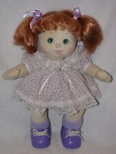 """15"""" Mattel My Child Doll With Red Hair 1985"""