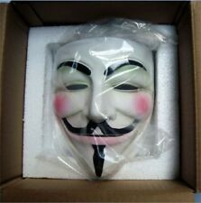 Cosplay Guy Fawkes V FOR Vendetta Anonymous Fancy Mask Resin Gift High-Grade