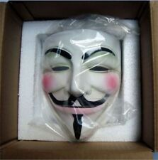 High-grade  Cosplay Halloween Guy Fawkes V FOR Vendetta Anonymous Mask Resin