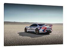 BMW CSL 3.0 - 30x20 pollici Canvas-Foto Incorniciata stampa poster art