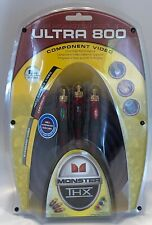 Monster Cable Ultra 800 THX Certified 8 FT. Component Video Cable 2.43m New!