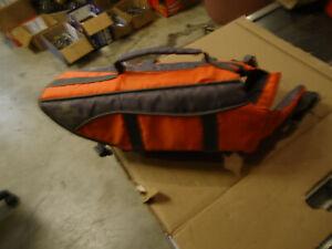 DOG LIFE JACKET Saver Preserver Safety Vest ORANGE SMALL