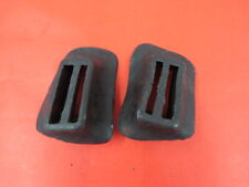 1935-37 Ford Pickup front bumper arm grommets PAIR 50-17772/3