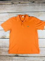 V28 Brooks Brothers Mens original Polo Shirt orange Large Golden Fleece large